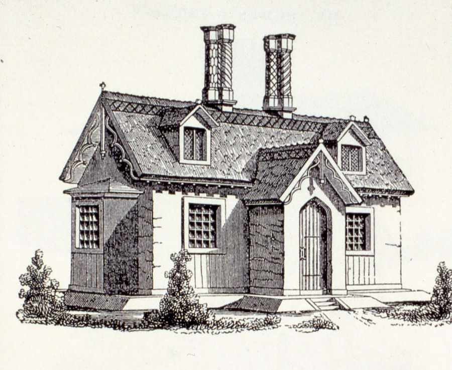 10 Genius Gothic Cottage House Plans Home Building Plans