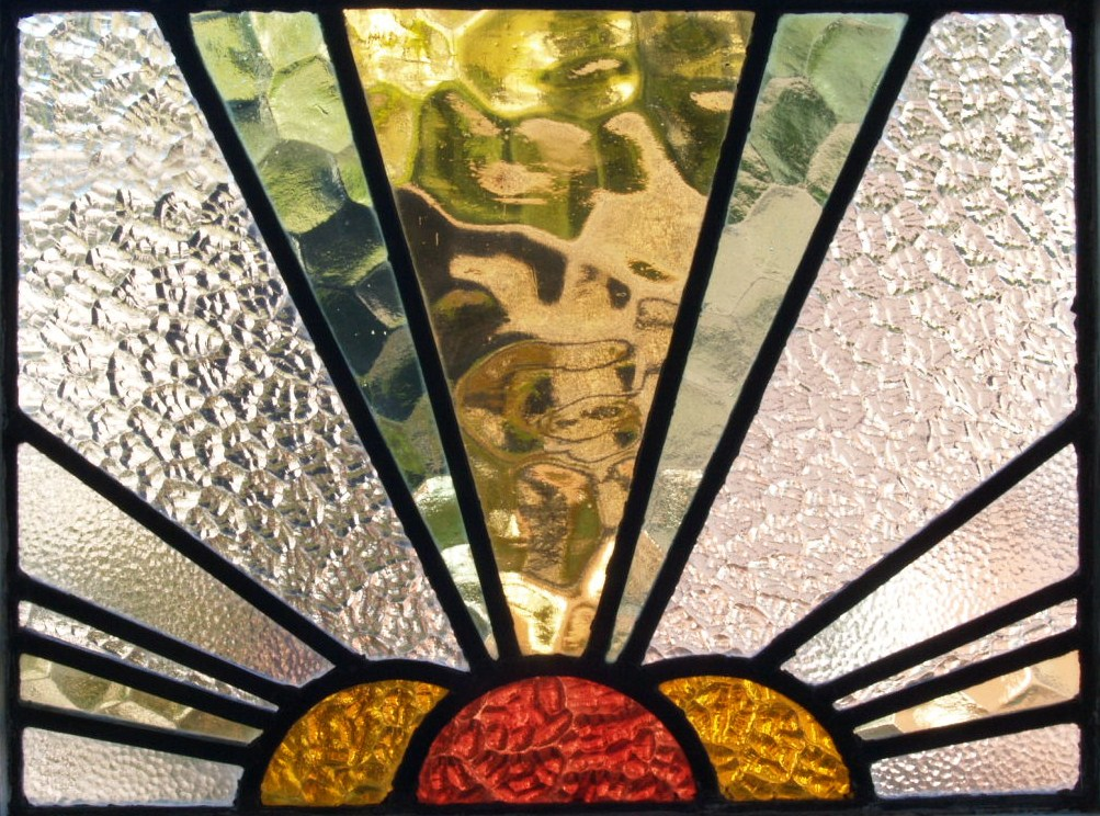 Domestic architecture 1700 to 1960 for 1930s stained glass window designs