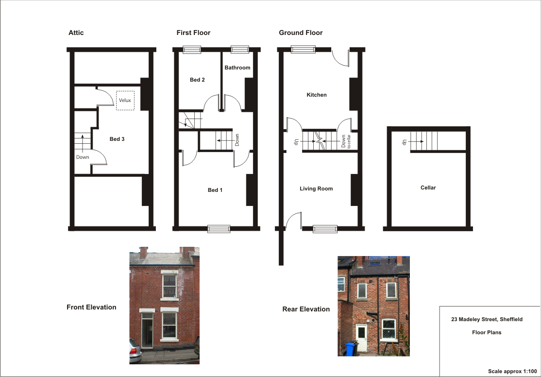 Domestic architecture 1700 to 1960 for Uk house floor plans